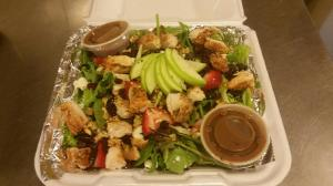 Don't forget, we also have delicious summer salads, like our Jackie O Salad with chicken!